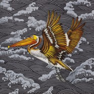 Billy Hassell, Brown Pelican, Turbulent Sea II
