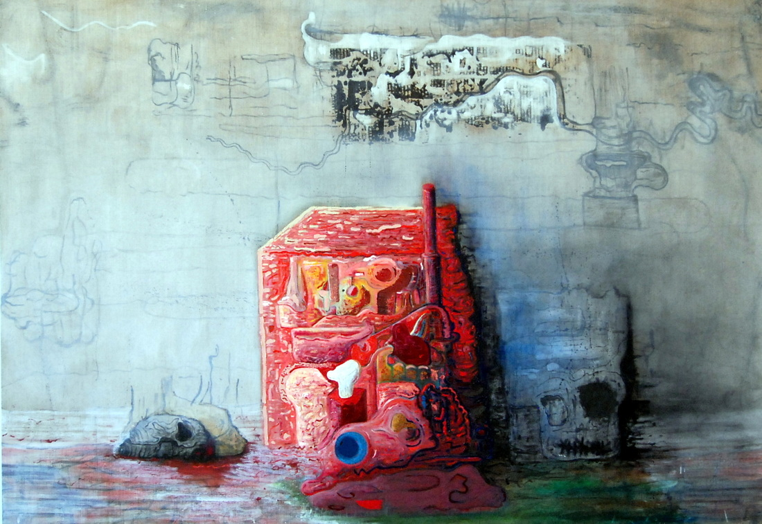 Jeff Parrott, Composition Cloth, 2012
