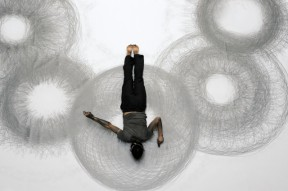 Tony Orrico 8 Circles Photo by Michael Hart