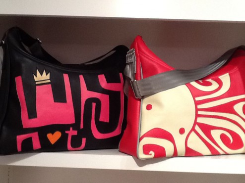 Fabulous, handmade, artist-designed bags by CYKOCHIK