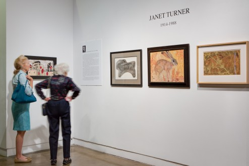 Janet Turner: Expressive Symbolism, 1914-1988, original prints of the flora and fauna of the Gulf Coast 9/6/14 – 10/25/14