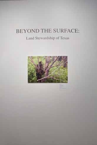 Beyond the Surface: Land Stewardship of Texas, photographs by John Bunker Sands and David Keith Sands 9/6/14 – 10/25/14