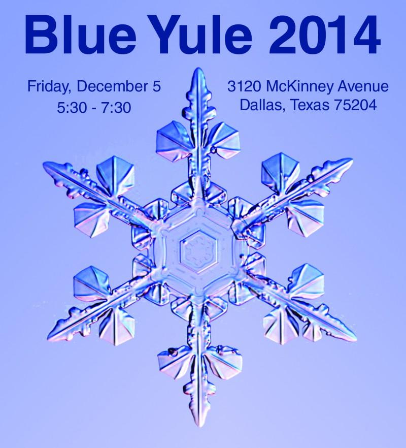 Blue Yule Square