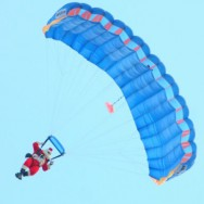 santa-parachute-David-McKeownStaff-photo-RepublicanHerald