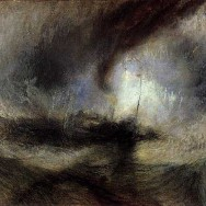 Joseph Mallord William Turner Snow_Storm_Steam_Boat_off_a Harbour_s_Mouth_ca_1842