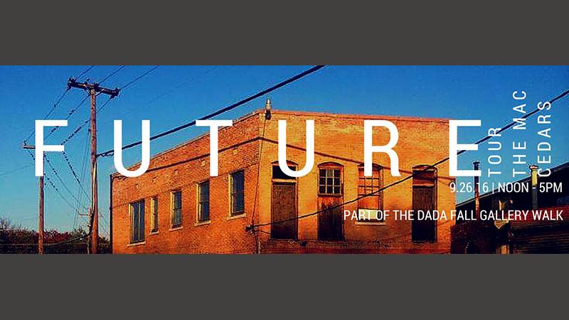 MAC Cedars tours for DADA Fall Gallery Walk Sept 26th 2015