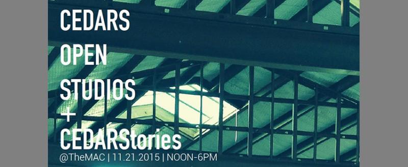 Cedars Open Studions and CedarStories_851x350